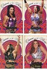 WWE QUEENS OF THE RING 2003 Fleer Insert Card: IVORY, JACQUELINE, JAZZ, NIDIA