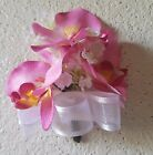 Pink Silk Orchid Corsage
