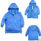 NEW Baby Child Kid Boy Toddler Cozy Fleece Jacket Coat Hooded Blue 1-6 Yrs old