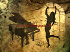 Just Dance Piano Fantasy Original Signed Handmade Matted Picture Art Print A496