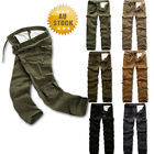 New Men's Combat Cotton Work Pants Casual Military Army Cargo Trousers Jogger