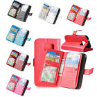 Luxury Stand Wallet 9 Cards Leather Case Cover For Samsung Galaxy S7&edge&Plus