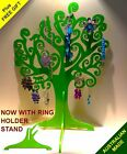 47cm CATS n CURLZ JEWELLERY TREE DISPLAY STAND + *FREE GIFT* CHOICE OF COLOURS