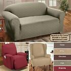 STRETCH SENSATIONS SLIPCOVER FURNITURE PROTECTOR ALL SIZES COLORS FREE SHIPPING