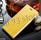 STYLISH LEATHER CASE COVER FOR APPLE iPHONES & SAMSUNG GALAXY Mobile Phones