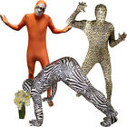 Animal Morphsuit Leopard Sloth Zebra Fancy Dress Costume for Stag Party Festival