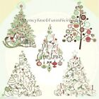 Christmas Tree Collection   Counted Cross Stitch Pattern