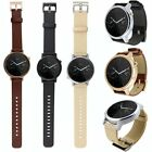 42-46mm Genuine Leather Watch Band Strap Buckle for MOTO 360 2nd Gen Smart Watch