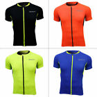 SPAKCT Men Cycling Short Sleeve Jersey Sport Bike Breathable Anti sweat T-shirt
