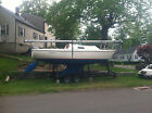 Pearson P26 sailboat with trailor