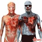 Beating Heart Muscle or Zombie Morphsuit Great for Halloween Fancy Dress Costume