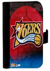 PHILADELPHIA 76ERS SAMSUNG GALAXY & iPHONE CELL PHONE CASE LEATHER COVER WALLET on eBay
