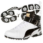 PUMA GOLF HERREN GOLFSCHUHE TITANTOUR IGNITE HI-TOP SE WHITE LIMITED EDITION