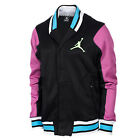 Jordan Varsity Shawl Men's Jacket Sweatshirt Black/Pink/Gamma Blue 576805-011