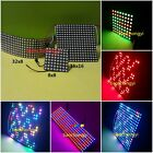 WS2812B WS2811 LED Digital Panel Matrix Screen 5050 RGB Addressabl​e 256 Pixels