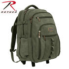 Rothco Rolling Canvas Backpack - 20057