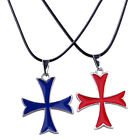 Assassin's Creed Unity Arno Dorian's Templar Cross Pendant with Necklace Collier