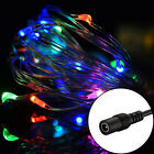5M/50LED String Fairy Lights Twinkle Light LED Wire Xmans Wedding Decor 6 Color