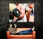 Bodybuilding Fitness Sport Wall Print POSTER