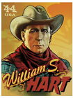 Cowboy William Hart Retro Painting Art Wall Print POSTER