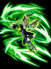 Mega Man Green Dragon Art Wall Print POSTER