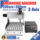 3020 3 AXIS CNC ROUTER ENGRAVER ENGRAVING MACHINE CUTTING T-SCREW DRILLING