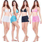 Ladies Woemn Sexy Lace Perspective Mini Pants Summer Beach Hot City Shorts