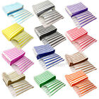 """100 CANDY STRIPED COLOR AND WHITE PAPER GIFT SWEET BAGS WEDDING PICK N MIX 7X9"""""""