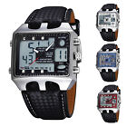Kyпить Ohsen Black Men's LED Alarm Analog Digital Waterproof Quartz Sport Wrist Watch на еВаy.соm