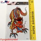 Large Tattoo - Dragon Waterproof Sticker