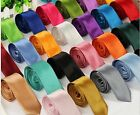 Men New Slim Skinny Neck Ties - Over 20 Colors