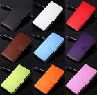 Magnificence Genuine Leather Flip Stand Case Wallet Cover For HTC One M8