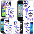 Motif case cover for Mobile Phones - blue monkey stars