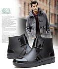 Men's Rain Boots Ankle Boots Fashion Water Shoes New Style Rain Shoes Galoshoes