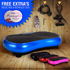 CRAZY FIT Slim Line Vibration Vibro Massage Power Plate **** FREE DVD & CD ****