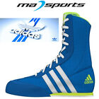 Adidas Box Hog Boxing Boots UK Sizes 5-14 Shock Blue