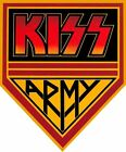 KISS Army Band Iron On T Shirt Fabric Transfer #1