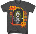 Ozzy Osbourne: Speak of the Devil  Charcoal  T-Shirt  Free Shipping