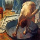 Edgar Degas The woman in the pelvis canvas print giclee 8X8&12X12