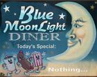 Blue Moonlight  Diner - Today's Special : Nothing. ~ Vintage Look Wall Art Print