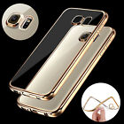 New! ShockProof Silicone Bumper Clear Slim Case Cover For Samsung Galaxy Models