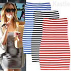 AnnaKastle New Womens Sexy Off Shoulder Striped Tube Mini Dress size XS - S