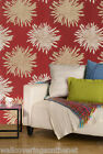 *bargain*   Red, Cream & Gold, Floral Design, Featurewall Wallpaper By Rasch