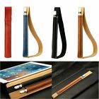 Genuine Leather Sleeve Pouch Bag Case Cover with Strap For Apple iPad Pro Pencil