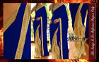 Bollywood Inspired - Wedding Wear Beige & Blue Saree - 9086-B