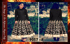 Bollywood Replica - Designer Black Banglori Silk Anarkali Suit - 9057-F