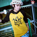 One Piece Trafalgar Law  Long-Sleeve Hoodie Outfit for costume Cosplay