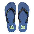 DC NEW Mens Blue Flip Flops Spray Flip Flops BNWT