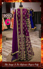 Bollywood Replica - Wedding Wear Purple Slit Anarkali Suit - 9095-C