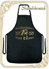 Dog grooming apron, staffordshire bull terrier, perfect gift for staffie lovers.